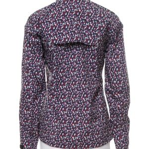 7eaab84f4847 Tory Burch Jackets   Coats - Tory Burch Blue Floral Sport Allweather Run  Fields